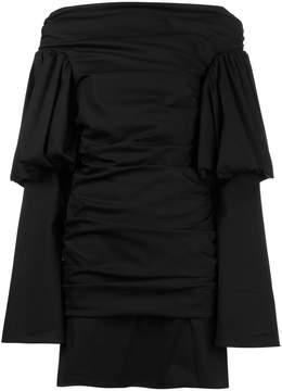 Ellery Cissy Strut Ruched Mini Dress