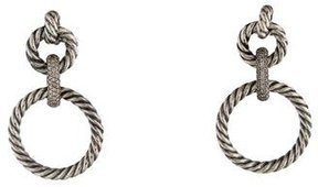 David Yurman Diamond Mobile Drop Earrings