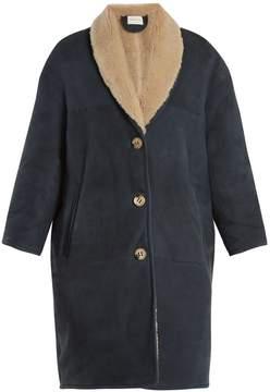 Etoile Isabel Marant Alan shawl-lapel shearling coat
