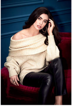 GUESS Dilan Off-Shoulder Sweater