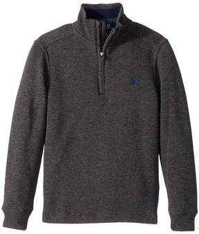 Polo Ralph Lauren French-Rib 1/2 Zip Pullover Boy's Clothing