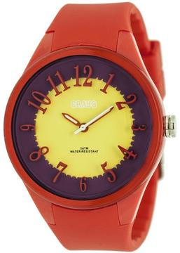 Crayo Burst Collection CRACR3201 Women's Watch with Silicone Strap