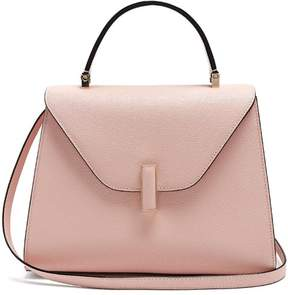 Valextra Iside Medium Grained Leather Bag - Womens - Light Pink