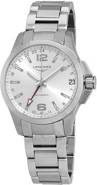 Longines Conquest Automatic Silver Dial Men's Watch