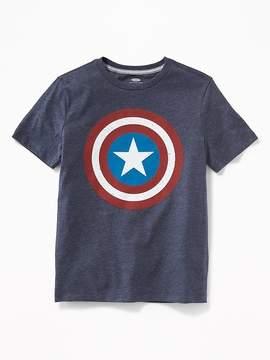 Old Navy Boys Marvel Comics Captain America Tees