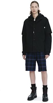 Alexander Wang COTTON GABARDINE SHORT SLEEVE SHIRT SHIRT