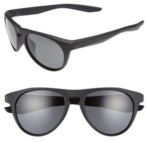 Nike Men's Essential Jaunt 56Mm Sunglasses - Matte Black
