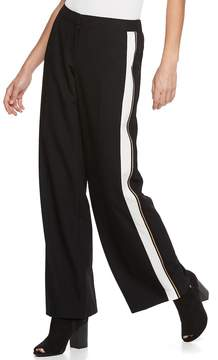Apt. 9 Women's Tuxedo Stripe Wide-Leg Pants
