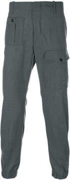 Dondup patch pocket tapered trousers