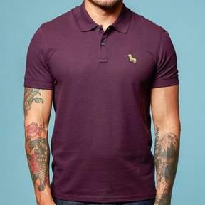 Blade + Blue Purple Cotton Pique Polo Shirt