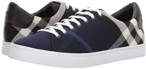 Burberry Albert House Check Low Top Men's Shoes