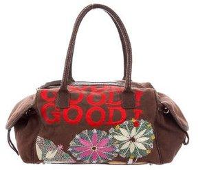 Christian Lacroix Embroidered Shoulder Bag