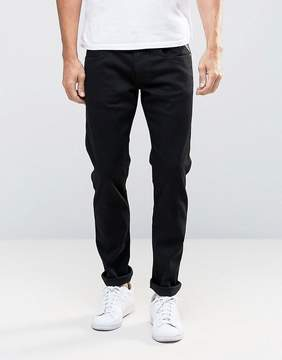 Replay Jeans Anbass Slim Stretch Fit Clean Black