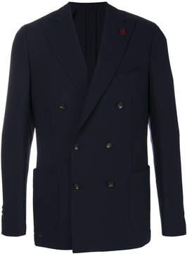 Lardini double breasted blazer