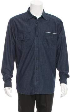 3x1 Chambray Button-Up Shirt