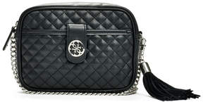 GUESS Classic Quilted Mini Crossbody