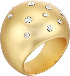 Cole Haan Tapered Dome Ring with Embedded Crystal Stones Ring