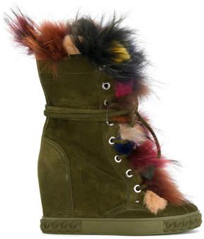 Casadei multicoloured trim boots
