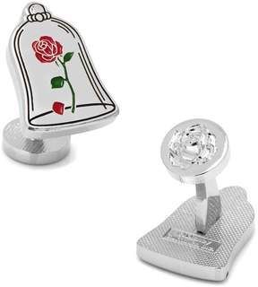 Disney Beauty & The Beast Enchanted Rose Cuff Links