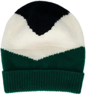 Marni colour block beanie