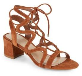 Saks Fifth Avenue Darci Lace-Up Cage Sandals