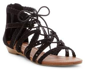 Rampage Shelia Braided Gladiator Sandal