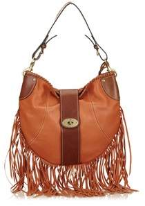 Mulberry Pre-owned: Fringed Leather Shoulder Bag.