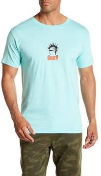 Obey Heavy Duty Creeps Logo Tee