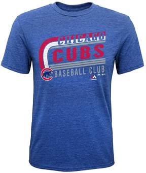 Majestic Boys 8-20 Chicago Cubs Curve Ball Tee