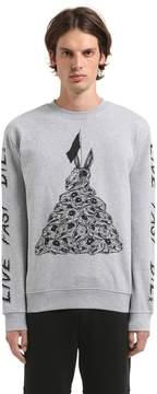 McQ Dead Bunny Organic Cotton Sweatshirt