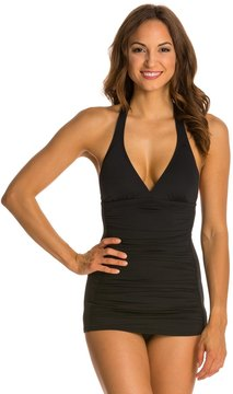 Coco Rave Solid Groovy Halter D/DD Cup Swimdress 8129222