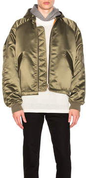 Fear Of God Satin Hooded Bomber