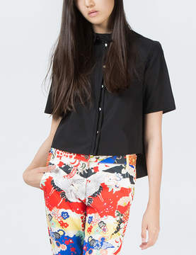 O'2nd 1 by Black Eco Patched Shirt