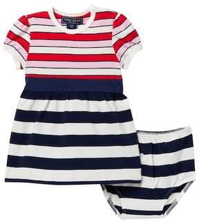 Toobydoo Effie Multi-Striped Dress (Baby, Toddler & Little Girls)