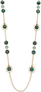 Dana Buchman Simulated Abalone Long Station Necklace