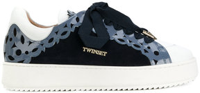 Twin-Set cut-out detail sneakers