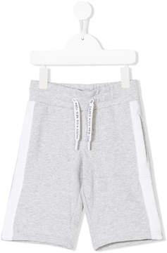 DKNY logo print shorts