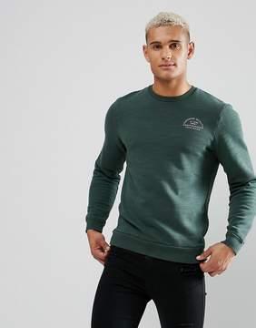 Jack Wills Hatton Sweatshirt In Green