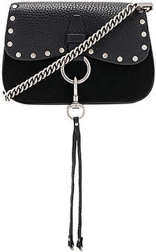 Rebecca Minkoff Keith Small Saddle Bag - BLACK - STYLE