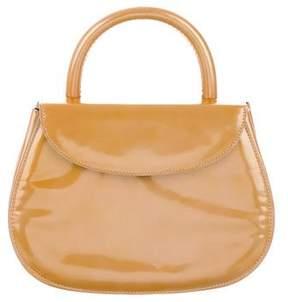 Prada Mini Vernice Top Handle Bag