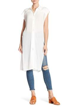 WAYF Short Sleeve Waist Tie Tunic