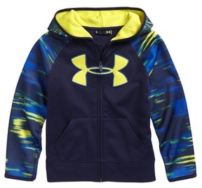 Under Armour Boy's Accelerate Big Logo Hoodie