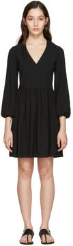 Chloé Black Deep-V Dress