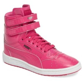 Puma Kid's Sky Ii Hi Patent High Top Sneaker