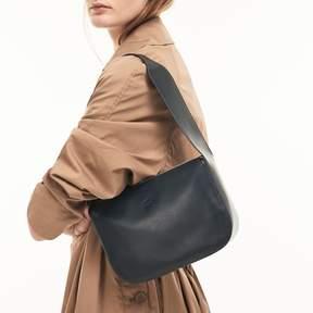 Lacoste Women's Purity Soft Monochrome Leather Mini Hobo Bag