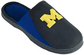 NCAA Kohl's Men's Michigan Wolverines Scuff Slippers