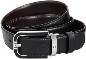 Montblanc Reversible Chrome Tanned Leather Belt