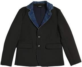 Diesel Cotton Sweatshirt Jacket