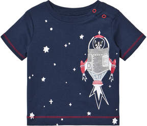 Hatley Navy Space Dog Mini Tee