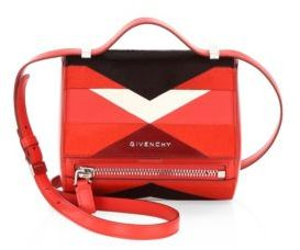 Givenchy Mini Leather & Calf Hair Pandora Box Bag